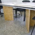 Tampo de Mesa de Reuniões