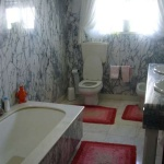WC em mármore Pele Tigre