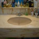 WC em Mármore Estremoz Salmão